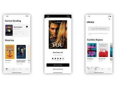 Shelv3s app store goodreads swiftui swift