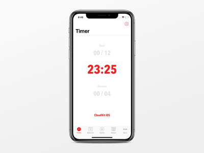 Timer - Tomates for iPhone and iPad pomodoro iphone timer iphone app ios app counter timer