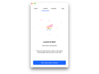Onboarding - Launch information