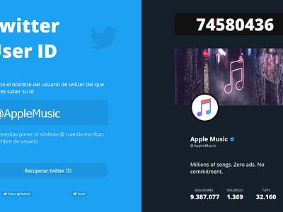 Get Twitter User ID twitter twitter profile