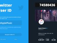 Get Twitter User ID