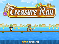 Treasure Run Title Mockup