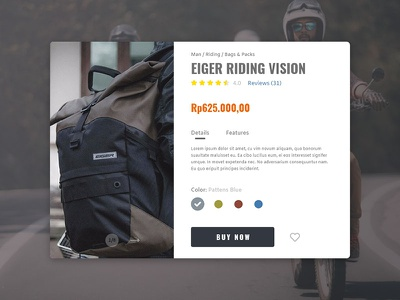 Quickview Product Info - Eiger quick view product info eiger bags riding e-commerce