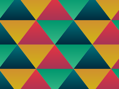 Digital Doodle: Triangle pattern triangles