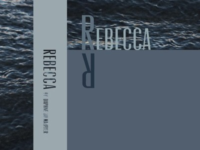 Rebecca Book Cover redesign