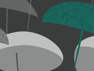 Museum of Weather V1 Umbrellas museum of weather poster futurism critical design