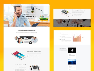 Hydd - Creative Multi-Purpose WordPress Theme blog multipurpose interactive portfolio elegant wordpress themes creative design wordpress website wordpress design design creative business webdesigner webdesign