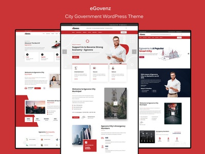 eGovenz -  Best City Government WordPress Theme