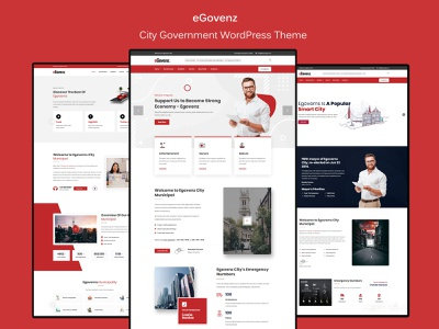 eGovenz -  Best City Government WordPress Theme wordpress theme wordpress village township town residents portal municipality municipal mayor government events city portal city government city web designer website web design association