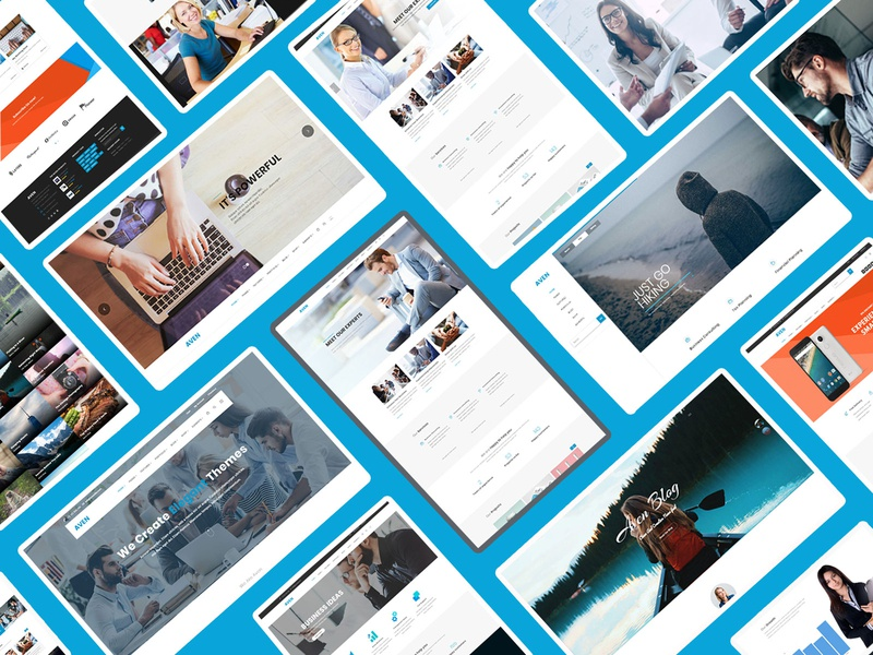 Aven - The Multi-Purpose WordPress Theme responsive wordpress theme wordpress website multipurpose design web designer web design creative agency corporate blog grid modern one page visual composer portfolio masonry magazine freelance