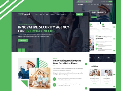 Wiguard - CCTV & Security WordPress Theme website wordpress theme business security solutions security products security company security hacking security hacker electronics cyber security cctv security company cctv security cctv guard