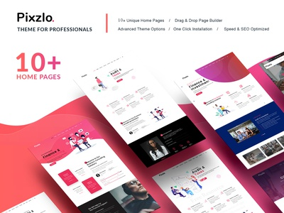 Pixzlo – Creative Theme for Professionals