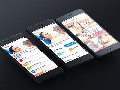 Informdoc iOS App dental courses online courses informdoc