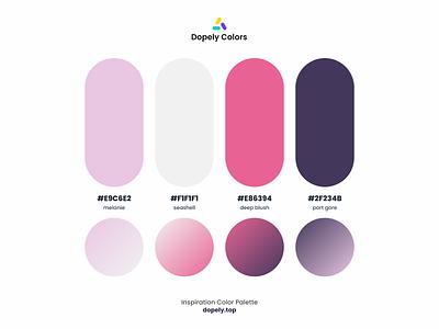 Color Palette for Color Lovers by Dopely Colors!🍭 grey purple pink color scheme colors colorful color palette color