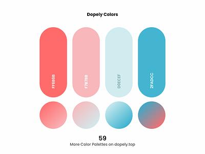 Daily dose of colors. (59)🍭 color palettes red blue colour color scheme gradients gradient colors colorful color palette color