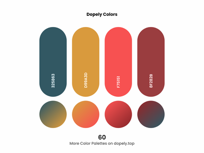 Daily dose of colors. (60)🍭 color palettes brown red colour gradients gradient color scheme colors colorful color palette color