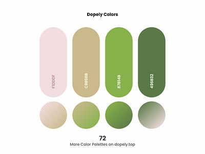 Brilliant daily dose of colors. (72) + Nice gradients🍭 painting paint colors gradient color scheme color colorful vector branding logo illustration ux ui design color palette