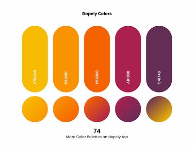 Brilliant daily dose of colors. (74)🍭 colorpalette gradients gradient color scheme colors vector branding logo illustration ux ui design colorful color palette color