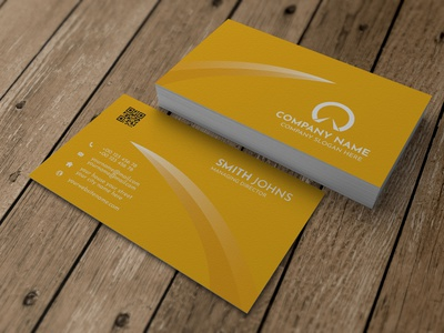 Business Card Design clean vertical 2021 trends cards colourful business card visiting card shape orange graphic design stationery corporate identity business card template business card design business card