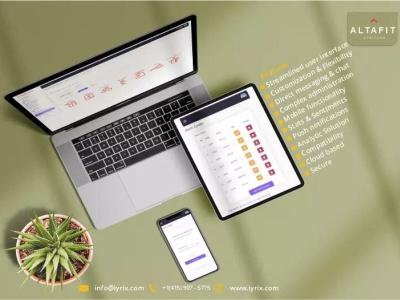 Altafit graphic design design app