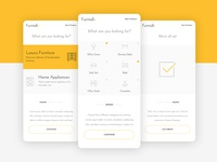 Furmall - Concept App UI/UX furniture app app design ui design app concept minimal