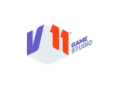 V11 Game Studio | Logo v3