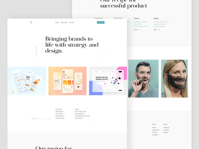 Shuffle Pro /  the easiest way to build a website. website theme template kirbycms getkirby design
