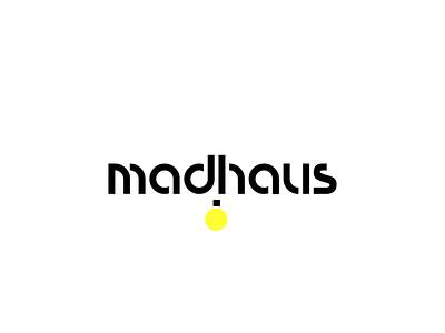 Logo madhaus hecho por la agencia 7 circulos