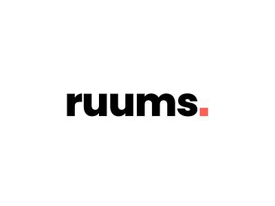 Logo de ruums hecho por la agencia 7 circulos