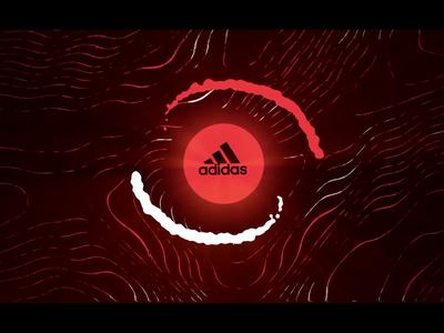 Adidas Tango League Paris 2018 (2/2) fingerprint shapes football adidas soccer field