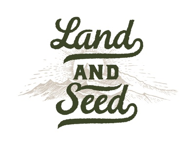 Outbound Land And Seed shirtdesign logo design illustration