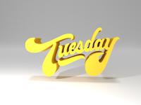 Tuesday Script