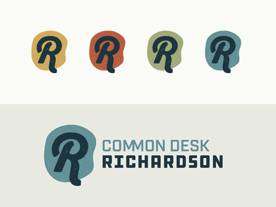 Common Desk Richardson Logo logo design branding vector design logotype logo
