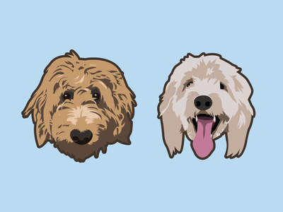 Dog Illustration design vector puppy dog illustration dogs illustration