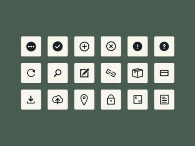 Icon Work minimal flat illustration vector web ux ui design icon design icon