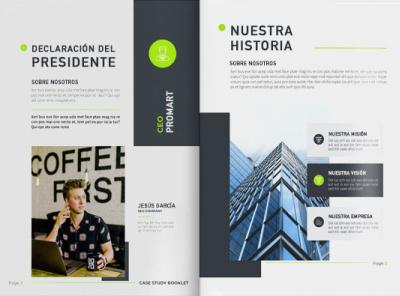 Diseño Editorial corporate branding graphic design editorial design