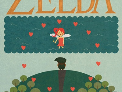 Happy 30th Birthday, Zelda poster zelda