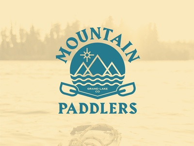 Mountain Paddlers Kayak Logo