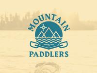 Mountain Paddlers Kayak Logo