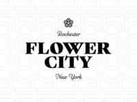 Rochester Flower City Lockup