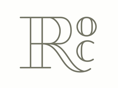 ROC 100 day project daily design vector type logo flower city 585 new york rochester