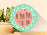 Taos New Mexico Badge