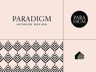 Paradigm Interior Design Elements paradigm visual identity branding interior designer boulder colorado minimal logo design