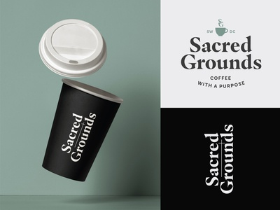 Sacred Grounds Coffee Branding