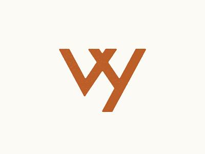 Wyoming Monogram minimal daily 100 day project vector typography logodesign logo monogram wyoming