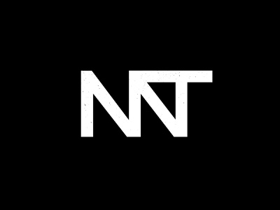 Montana Monogram minimal logo mark montana monogram 100 day project vector logo typography