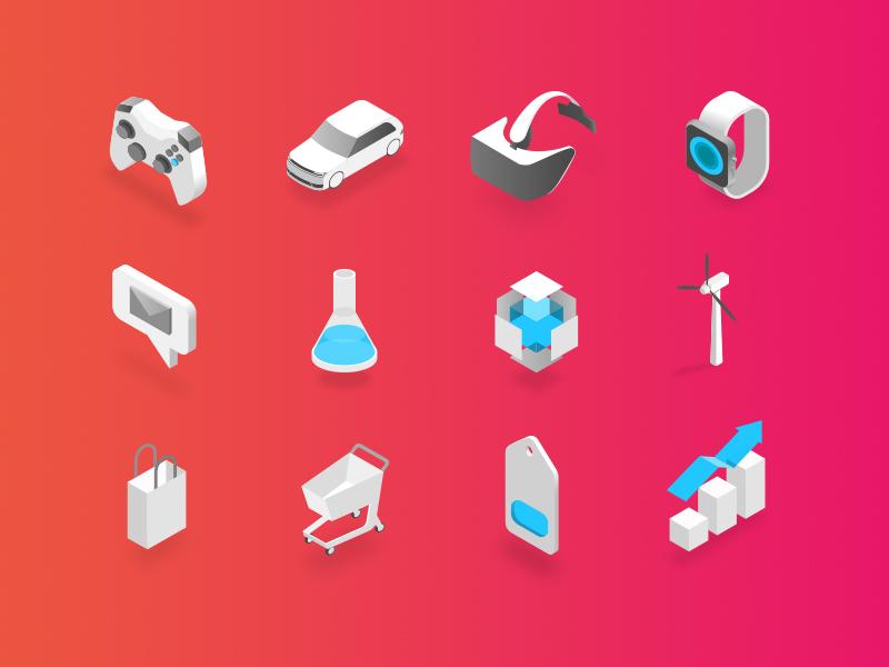 Treasure data icons