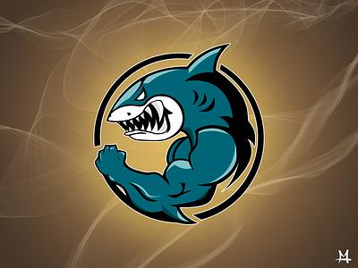 SHARK LOGO DRIBBLE PNG vector esport shark drawing photoshop mathieudouedesign logo illustrator illustration design typography