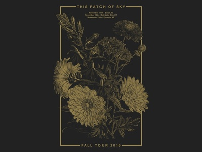 This Patch Of Sky - Tour Poster