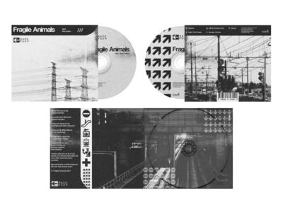 Fragile Animals - Album Layout